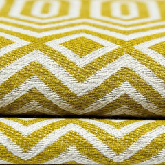 mcalister-textiles-yellow-green-Colorado-woven-geometric-fabric-close-up