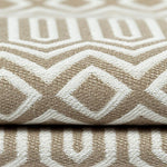 Load image into Gallery viewer, McAlister Textiles Colorado Geometric Taupe Beige Fabric Fabrics