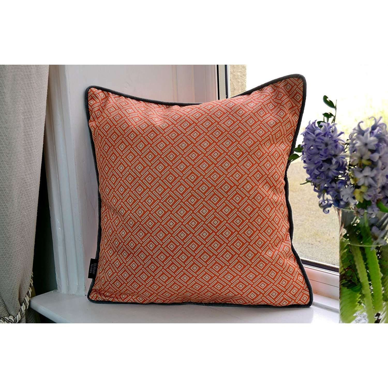 McAlister Textiles Scandinavian Burnt Orange 43cm x 43cm Cushion Set of 3 Cushions and Covers