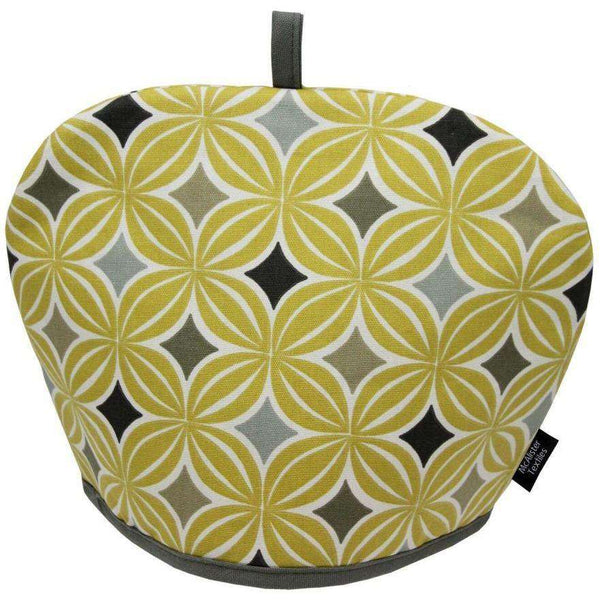 McAlister Textiles Laila Cotton Ochre Yellow Tea Cosy Kitchen Accessories