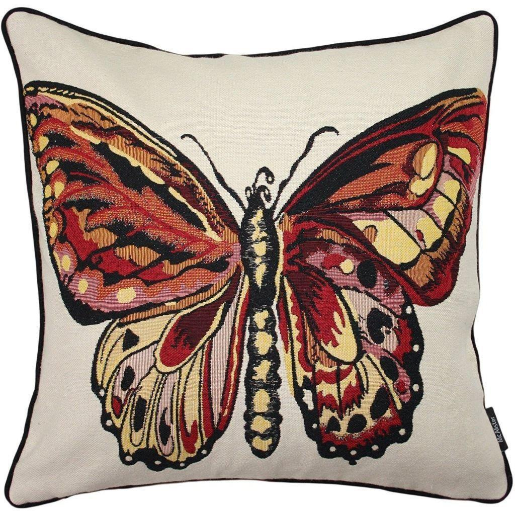 McAlister Textiles Bug's Life Butterfly Cushion Cushions and Covers Cover Only