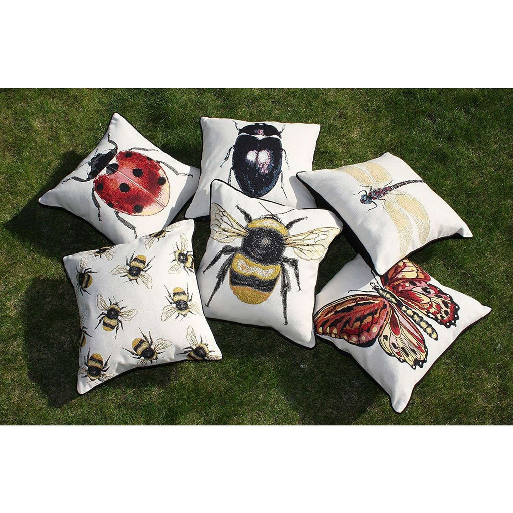 McAlister Textiles Bug's Life Scatter Cushion Sets Cushions and Covers Set of 6 Cushion Covers