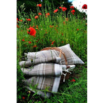 Laden Sie das Bild in den Galerie-Viewer, McAlister Textiles Angus Beige Cream Tartan Pillow Pillow