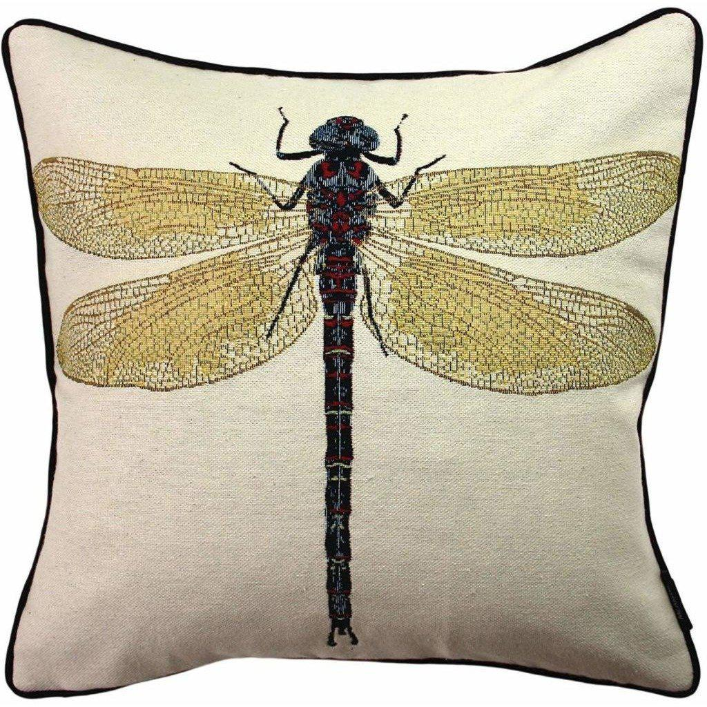 McAlister Textiles Bug's Life Dragonfly Cushion Cushions and Covers Cover Only