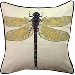 Carica l'immagine nel visualizzatore di Gallery, McAlister Textiles Bug's Life Dragonfly Cushion Cushions and Covers Cover Only
