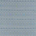 Load image into Gallery viewer, McAlister Textiles Colorado Geometric Navy Blue Fabric Fabrics 1 Metre