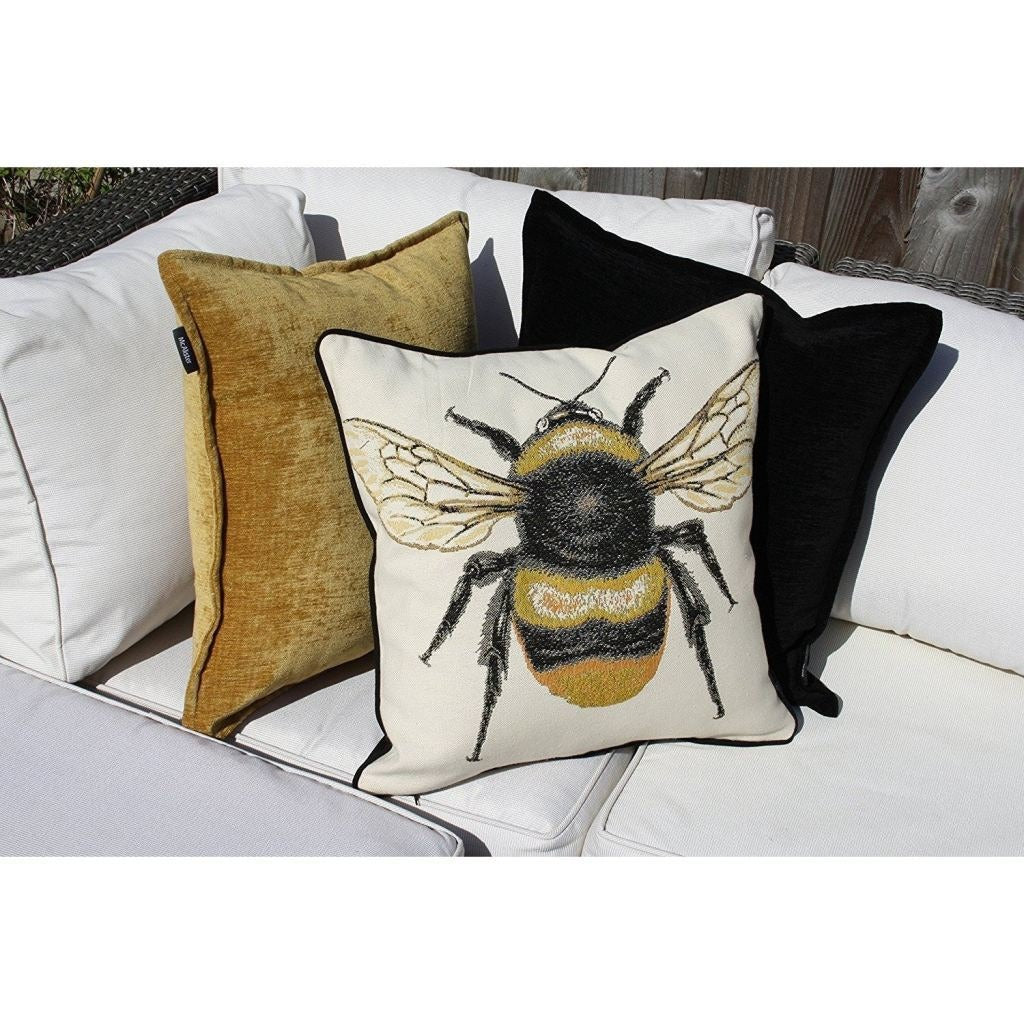 McAlister Textiles Bug's Life Queen Bee Cushion Cushions and Covers
