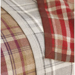 Load image into Gallery viewer, McAlister Textiles Heritage Burnt Orange + Grey Tartan Table Runner Throws and Runners