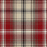 Load image into Gallery viewer, McAlister Textiles Angus Red + White Tartan Cushion Cushions and Covers