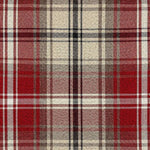 Load image into Gallery viewer, McAlister Textiles Angus Red + White Tartan Pillow Pillow