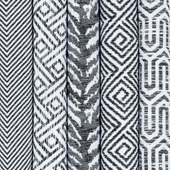 mcalister-textiles-black-white-woven-geometric-cushions-pillows-covers-corner-fabrics-range