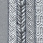 Load image into Gallery viewer, McAlister Textiles Costa Rica Black + White Fabric Fabrics