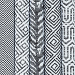 Load image into Gallery viewer, McAlister Textiles Herringbone Twill Black + White Fabric Fabrics