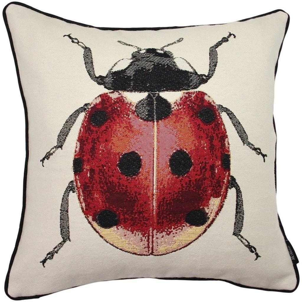 McAlister Textiles Bug's Life Ladybird Cushion Cushions and Covers Cover Only
