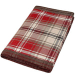 Load image into Gallery viewer, McAlister Textiles Angus Red + White Tartan Table Runner Throws and Runners