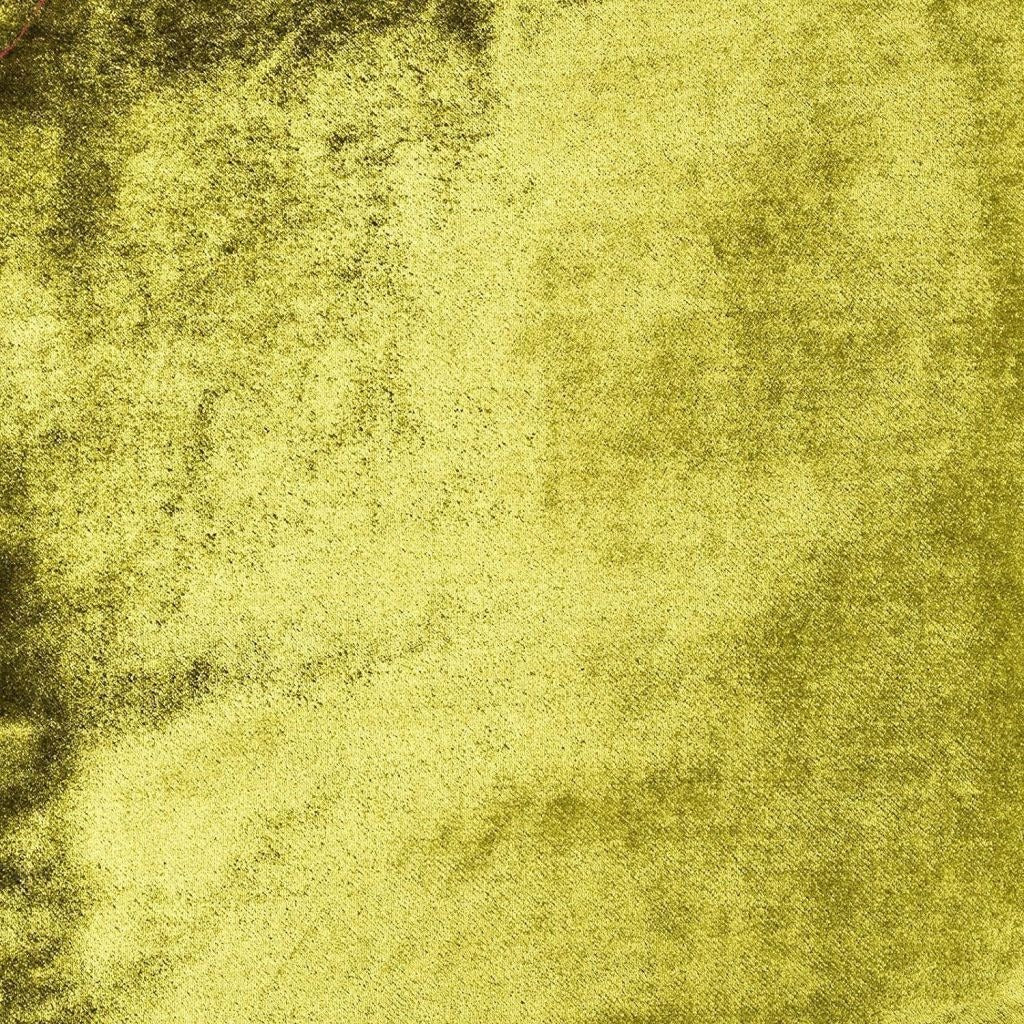 McAlister Textiles Crushed Velvet Lime Green Fabric Fabrics
