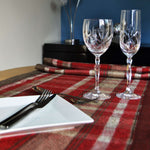 Charger l'image dans la galerie, McAlister Textiles Heritage Red + White Tartan Table Runner Throws and Runners