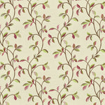 Load image into Gallery viewer, McAlister Textiles Annabel Floral Cherry Red Fabric Fabrics 1 Metre