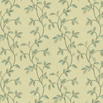 Load image into Gallery viewer, McAlister Textiles Annabel Floral Duck Egg Blue Fabric Fabrics 1 Metre