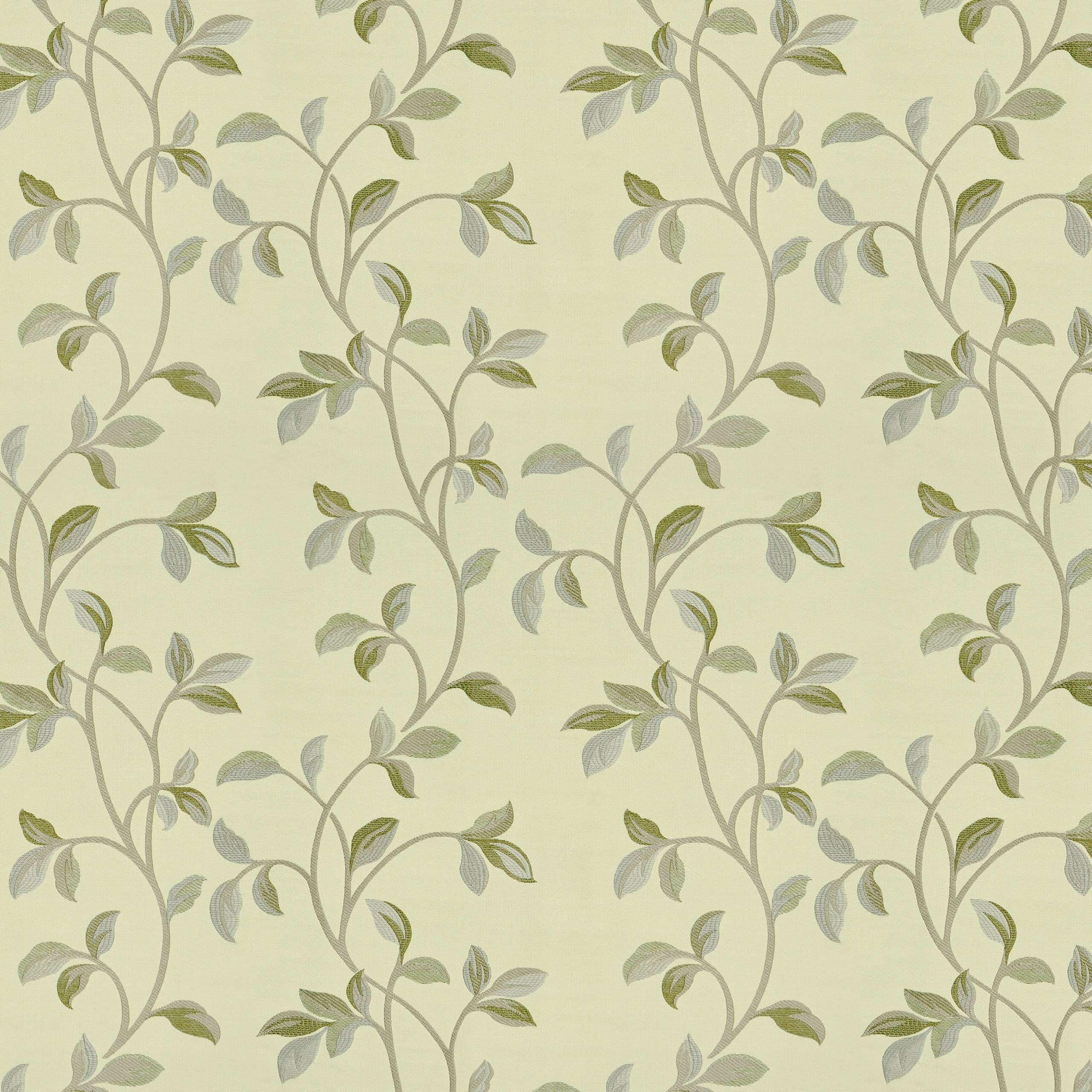 McAlister Textiles Annabel Floral Sage Green Fabric Fabrics 1 Metre