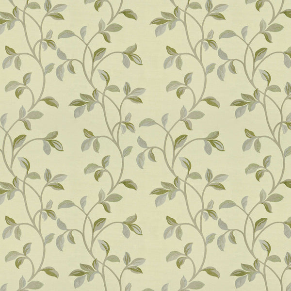 McAlister Textiles Annabel Floral Sage Green Fabric Fabrics