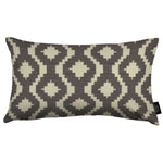 Laden Sie das Bild in den Galerie-Viewer, McAlister Textiles Arizona Geometric Charcoal Grey Pillow Pillow Cover Only 50cm x 30cm
