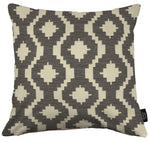 Load image into Gallery viewer, McAlister Textiles Arizona Geometric Charcoal Grey Cushion Cushions and Covers Cover Only 43cm x 43cm