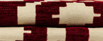 Load image into Gallery viewer, McAlister Textiles Arizona Geometric Red Curtains Tailored Curtains