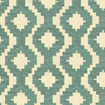 Load image into Gallery viewer, McAlister Textiles Arizona Geometric Duck Egg Blue Fabric Fabrics 1 Metre