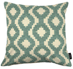 Cargar imagen en el visor de la galería, McAlister Textiles Arizona Geometric Duck Egg Blue Cushion Cushions and Covers Cover Only 43cm x 43cm