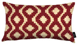 Charger l'image dans la galerie, McAlister Textiles Arizona Geometric Red Cushion Cushions and Covers Cover Only 50cm x 30cm