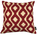 Charger l'image dans la galerie, McAlister Textiles Arizona Geometric Red Cushion Cushions and Covers Cover Only 43cm x 43cm