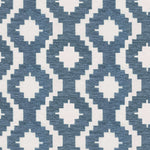 Load image into Gallery viewer, McAlister Textiles Arizona Geometric Wedgewood Blue Fabric Fabrics 1 Metre