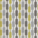 Load image into Gallery viewer, McAlister Textiles Lotta Ochre Yellow + Grey Cushion Cushions and Covers