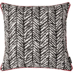 Carica l'immagine nel visualizzatore di Gallery, McAlister Textiles Baja Black + White Abstract Cushion Cushions and Covers Polyester Filler 43cm x 43cm
