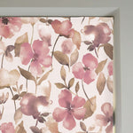 Load image into Gallery viewer, McAlister Textiles Blush Pink Floral Velvet Roman Blind Roman Blinds