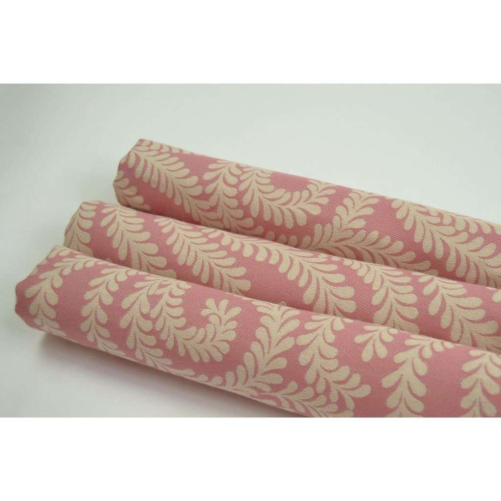McAlister Textiles Little Leaf Blush Pink Fabric Fabrics