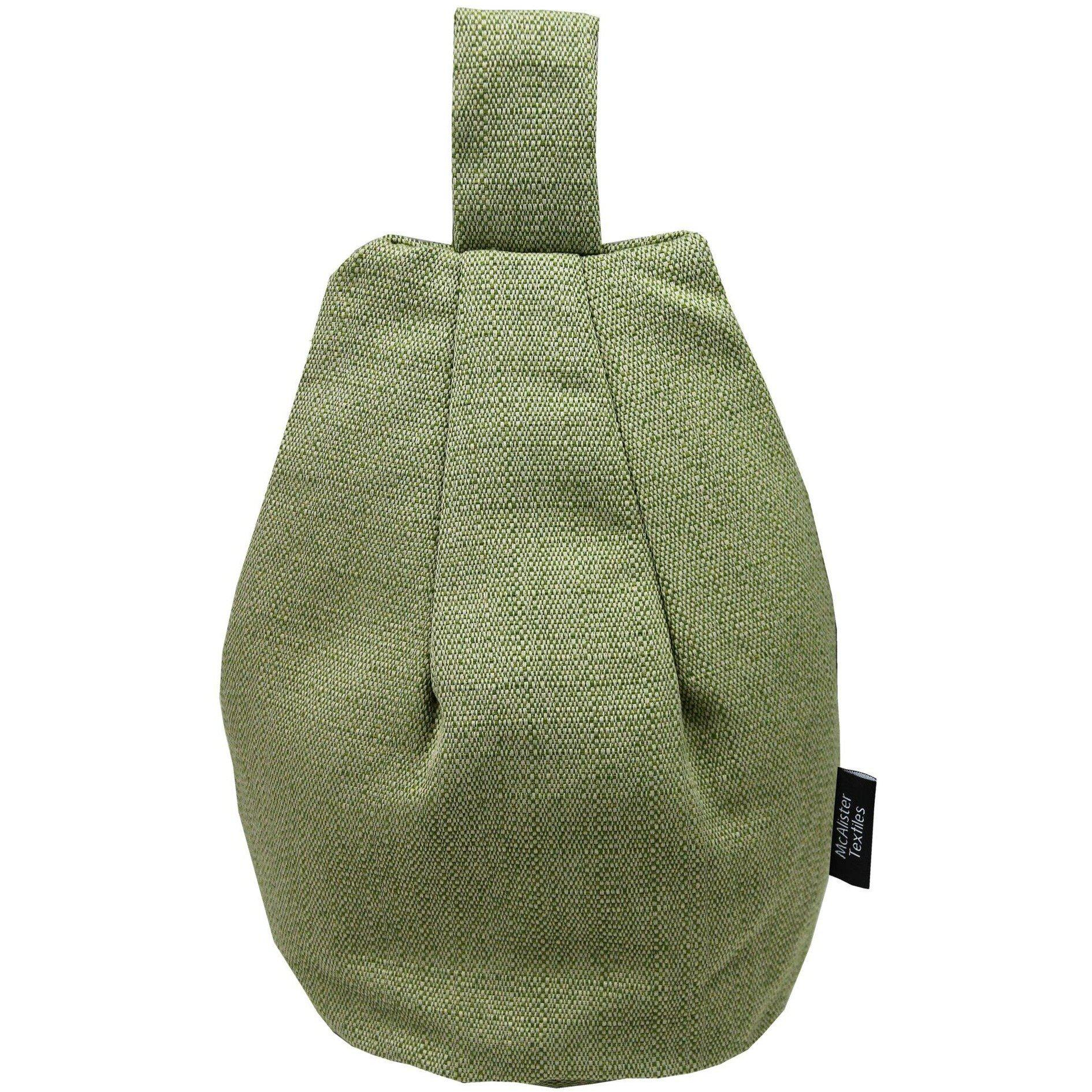 McAlister Textiles Savannah Sage Green Tablet Stand Mini Bean Bag