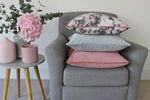 Load image into Gallery viewer, McAlister Textiles Matt Dove Grey Velvet Cushion Cushions and Covers