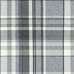 Load image into Gallery viewer, McAlister Textiles Heritage Charcoal Grey Tartan Throw Throws and Runners