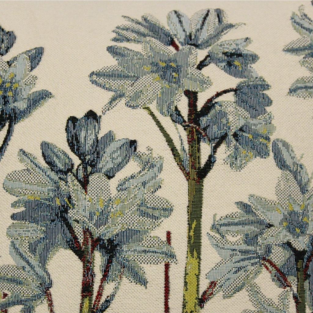 McAlister Textiles Tapestry Bluebell Floral Cushion Cushions and Covers