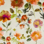 Load image into Gallery viewer, McAlister Textiles Renoir Floral Orange Velvet Roman Blind Roman Blinds