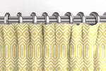 Carica l'immagine nel visualizzatore di Gallery, McAlister Textiles Colorado Geometric Yellow Curtains Tailored Curtains