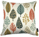 Laden Sie das Bild in den Galerie-Viewer, McAlister Textiles Magda Cotton Print Burnt Orange Cushion Cushions and Covers Cover Only 43cm x 43cm