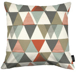 Laden Sie das Bild in den Galerie-Viewer, McAlister Textiles Vita Cotton Print Burnt Orange Cushion Cushions and Covers Cover Only 43cm x 43cm