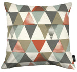 Load image into Gallery viewer, McAlister Textiles Vita Cotton Print Burnt Orange Pillow Pillow Cover Only 43cm x 43cm