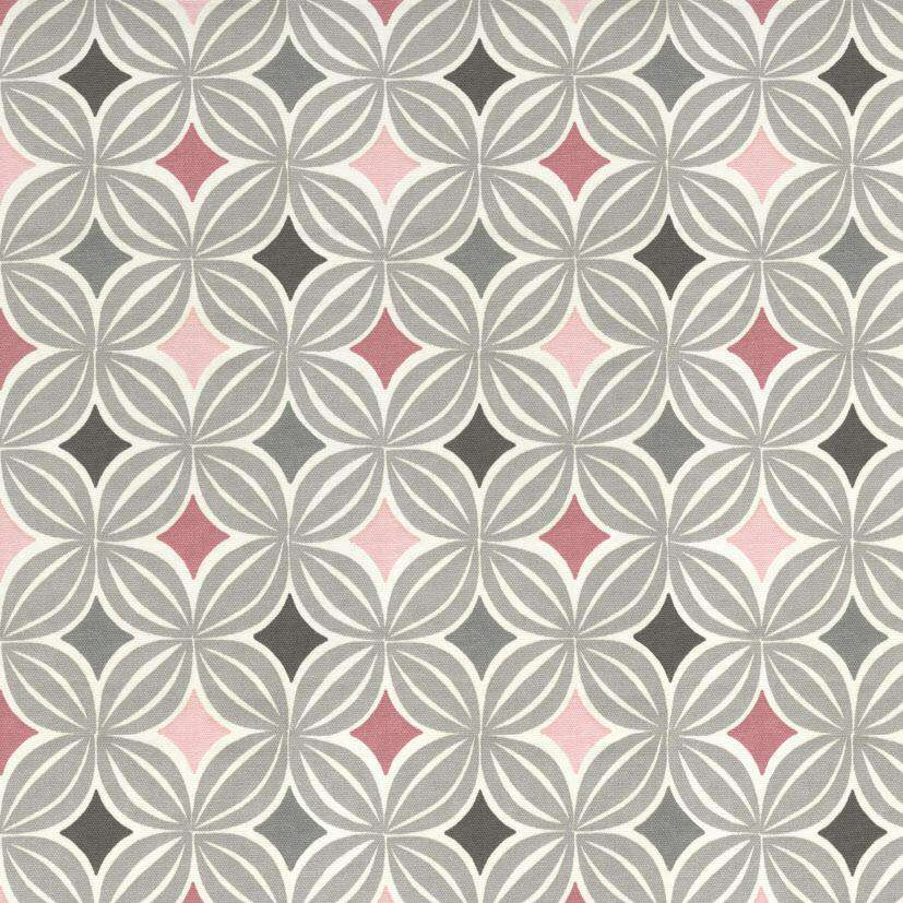 McAlister Textiles Laila Cotton Blush Pink Printed Fabric Fabrics