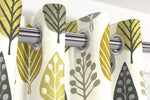Load image into Gallery viewer, McAlister Textiles Magda Cotton Print Ochre Yellow Curtains Tailored Curtains