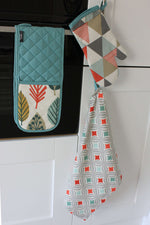 Load image into Gallery viewer, McAlister Textiles Laila Burnt Orange Cotton Tea Towel Set Kitchen Accessories