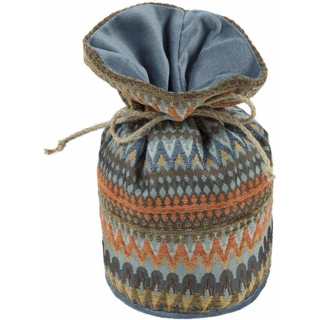 McAlister Textiles Curitiba Burnt Orange + Teal Door Stop Doorstops